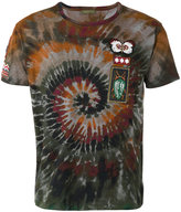 Valentino tie-dye swirl t-shirt - men - Cotton/Polyester - S