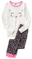 Crazy 8 Cat 2-Piece Pajama Set