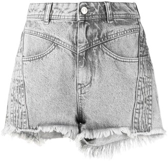 IRO High-Rise Denim Shorts