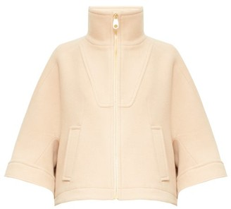 Chloé High-neck Twill Jacket - Beige