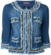 GUILD PRIME cropped denim jacket - women - Cotton/Polyurethane - 34