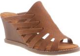 BearPaw Women's Sherri Mule Wedge Sandal