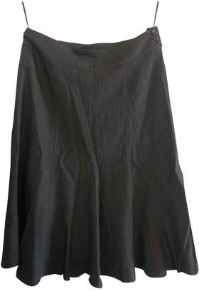 Gerard Darel Black Wool Skirt for Women