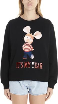 Alberta Ferretti topo Gigio Its My Year Sweatshirt