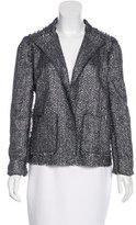 Lanvin Metallic Tweed Blazer