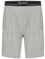 HUGO BOSS Short Pant EW Modal Lounge Shorts M Grey