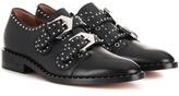 Givenchy Elegant embellished leather monk strap shoes