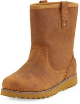 UGG Redwood Leather Boot, Chestnut, Youth