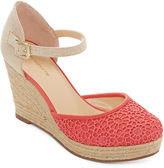 Liz Claiborne Mabel Espadrille Wedge Sandals