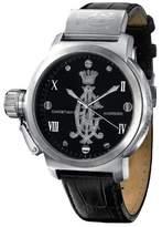 Christian Audigier Unisex ETE-102 Eternity Pure Metallic Stainless Steel Watch