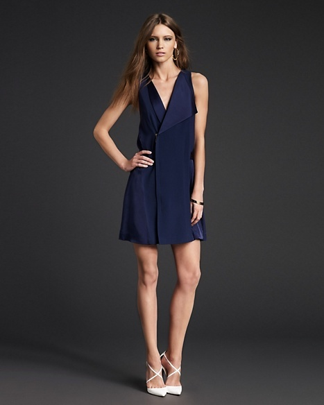 Juicy Couture Misty Pleated Back Dress