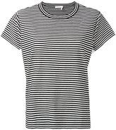 Chloé side panel striped T-shirt - women - Cotton/Polyamide - M