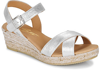 Betty London GIORGIA women's Sandals in Silver