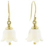 Annette Ferdinandsen Large Mamomth Ivory Lily Of The Valley Earrings