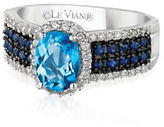 LeVian Le Vian Diamond, Topaz and Sapphire Ring, 0.26TCW
