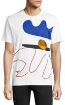 Salvatore Ferragamo Abstract Printed Regular-Fit Tee