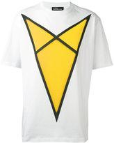 Raf Simons arrow print T-shirt - men - Cotton - S