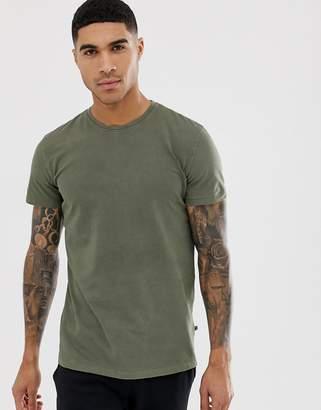 Kronstradt Kronstadt Premium Basic Washed T-Shirt-Green