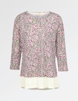Fat Face Maya Brushed Floral Top
