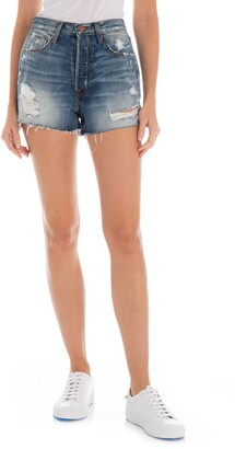 Fidelity Harley High Waist Cutoff Denim Shorts
