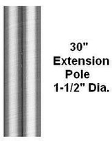 Fanimation Ep30Pw Down Rod From The Palisade Collection Pewter