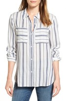 Women's Two By Vince Camuto Variegated Stripe Shirt