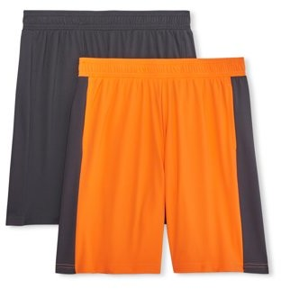 Athletic Works Boys 4-18 & Husky DriWorks Performance Core Shorts, 2-Pack