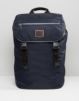 Paul Smith Strap Backpack In Navy
