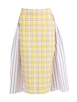 Rosie Assoulin Party In The Back Multicolored Skirt