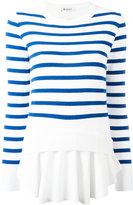 Dondup striped layer jumper