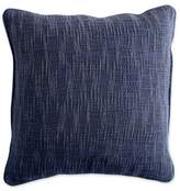 DKNY DKNYpure Stripe Space Dye Square Throw Pillow in Blue
