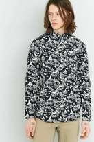 Wemoto Dark Navy Printed Shirt