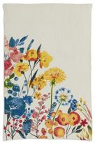 "Sur La Table Multicolor Floral Linen Kitchen Towel, 28"" x 18"""
