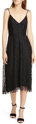 Joie Josana Allover Lace Tie Strap Dress