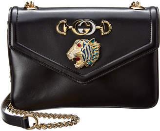 Gucci Rajah Small Leather Shoulder Bag