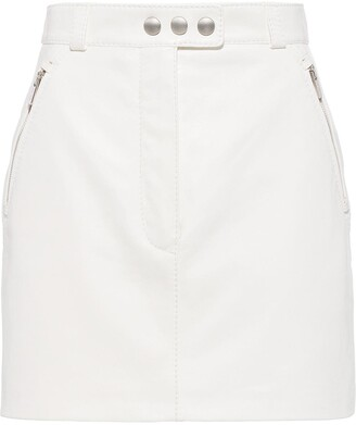 Miu Miu High-Waisted Mini Skirt