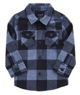 F&F Brushed Checked Shirt, Infant Boy's
