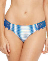 Seafolly Riviera Stripe Lace Hipster Brief