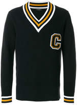 Calvin Klein border varsity sweater