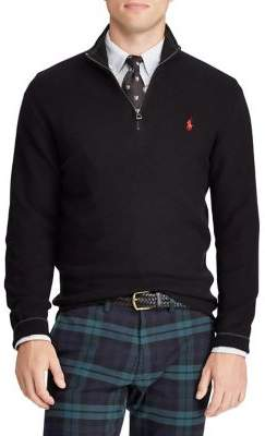 Polo Ralph Lauren Half-Zip Cotton Pullover Sweater