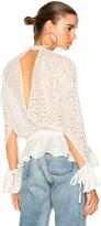 Marissa Webb Sullivan Lace Top in White.
