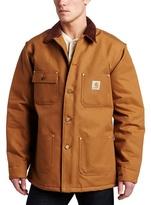 Carhartt Men's Big & Tall Duck Chore Coat Blanket Lined C001