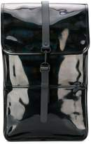 Rains large glossy effect backpack