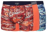 Mantaray Big And Tall Pack Of Three Assorted Beach Print Trunks
