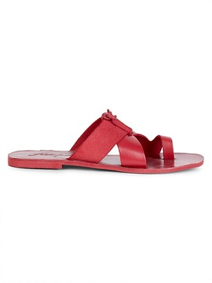 Free People Sophie Leather Flat Sandals
