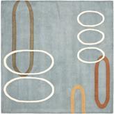 Safavieh Soho Blue-Multi 6' Square Rug