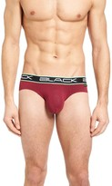 Andrew Christian Men's Black Collection Stretch Briefs