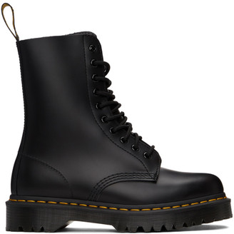 Dr. Martens Black 1490 Smooth Bex Boots