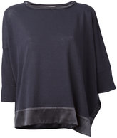 Fabiana Filippi silk trim top