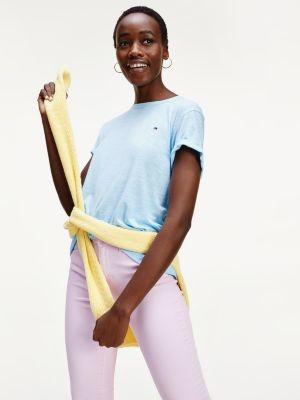 Tommy Hilfiger Linen Blend Oversized T-Shirt